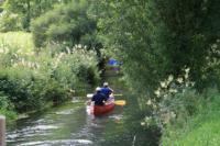 unvergesslich eine Kanutour auf der Lauter oder im Donautal... - Bild 11: Ferienunterkunft für 2 Personen, mittlere Schwäbische Alb, ländlich.