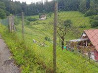 Der sehr große Hundeauslauf ist direkt mit der Wohnung verbunden, so dass sich ihr/e Hund/e den ganzen Tag frei bewegen können.Die Hunde lieben es. - Bild 44: Außergewöhnliche luxuriöse Ferienwohnung im Schwarzwald