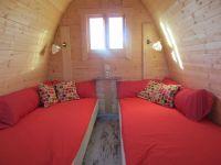 """Bild 2: Ferienhaus - Camping Pod 1 """"Apfelhäusle"""" auf dem Burgstallhof"""