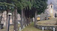 Crealla ist ein besonders ursprüngliches Dorf abseits im Cannobiner Tal, und von Falmenta im Hintergrund durch eine Schlucht getrennt - Bild 20: Sonnig und ruhig gelegenes Ferienhaus in Orasso (Cannobiner Tal)