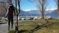 Von Orasso erreicht man nach 15km Cannobio am Lago Maggiore, wo man surfen, segeln, schwimmen, tauchen, aber auch einfach nur promenieren, essen und kaufen kann - Bild 17: Sonnig und ruhig gelegenes Ferienhaus in Orasso (Cannobiner Tal)