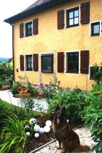 Bild 2: Ferienhaus Gabriela mit eingezäunten Garten und privatem Swimmingpool