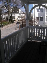 2. Balkon - Zugang von der Küche aus - Bild 5: Ferienwohnung Nr. 8 in der Villa Laetitia