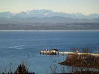 Alpenpanorama - Bild 2: Ferienwohnung Fam. Mehl - mit Panorama-See- und Alpenblick -
