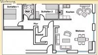 Bild 2: 4-Sterne-Ferienwohnung im Haus Walfänger