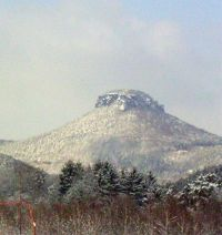 Lilienstein im Winter - Bild 11: Ferienwohnung in Bad Schandau Elbsandsteingebirge
